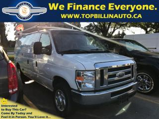 Used 2011 Ford E150 Commercial Cargo Van with Roof Rack, 197K for sale in Concord, ON