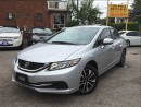 Used 2014 Honda Civic Sunroof*Cam*HtdSeats*Bluetooth*HondaWarranty* for sale in York, ON