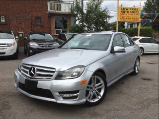 Used 2013 Mercedes-Benz C-Class AWD*Navi*HtdSeats*LaneAssist&MBWarranty* for sale in York, ON