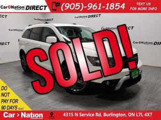 Used 2014 Dodge Journey Crossroad| LEATHER| BACK UP CAM & SENSORS| for sale in Burlington, ON