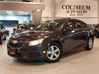 Used 2014 Chevrolet Cruze 2LT-AUTO-NAVI-REAR CAM-LEATHER-SUNROOF-ONLY 55KM for sale in York, ON