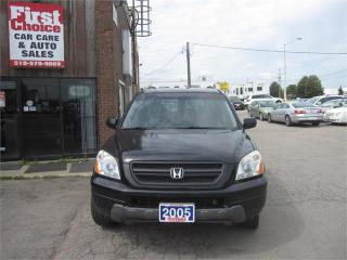 Used 2005 Honda Pilot EX for sale in Kitchener, ON