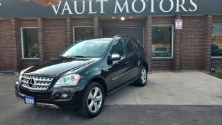 Used 2009 Mercedes-Benz ML-Class Nav WARRANTY INCLUDED Always dealer serviced for sale in Brampton, ON