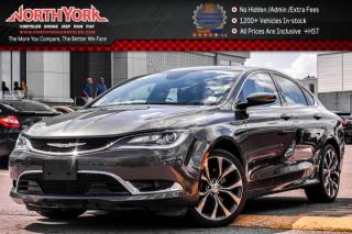 Used 2016 Chrysler 200 C|PanoSunroof|Nav|Leather|R-Start|Backup_Cam|HtdFrntSeats|19