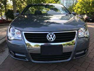 Used 2009 Volkswagen Eos 6SP MANUAL,LOCAL,CAME FROM VW DEALER,SUN ROOF for sale in Vancouver, BC