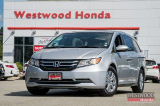Used 2015 Honda Odyssey EX-L RES - Accident Free, Warranty till 2021! for sale in Port Moody, BC