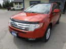 Used 2008 Ford Edge POWER EQUIPPED SEL MODEL 5 PASSENGER 3.5L - V6.. ALL WHEEL DRIVE.. HEATED SEATS.. CD/AUX INPUT.. KEYLESS ENTRY.. for sale in Bradford, ON