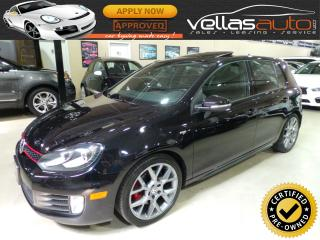 Used 2013 Volkswagen Golf GTI 5-Door Wolfsburg Edition WOLFSBURG EDITION| NAVIGATION| SUNROOF for sale in Woodbridge, ON