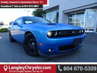 Used 2015 Dodge Challenger Scat Pack *ACCIDENT FREE * LOCAL BC CAR * for sale in Surrey, BC
