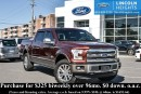 Used 2016 Ford F-150 KING RANCH 5.5' BED 4WD - LEATHER - BLUETOOTH - BLIND SPOT INFO SYSTEM - MOONROOF - TRAILER TOW for sale in Ottawa, ON