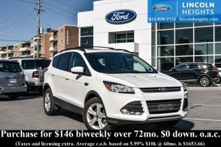 Used 2014 Ford Escape SE FWD - LEATHER - BLUETOOTH - REAR PARKING AID - POWER LIFTGATE - PANORAMA ROOF for sale in Ottawa, ON
