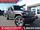 Used 2017 Jeep Wrangler Unlimited Sahara *ACCIDENT FREE * DEALER INSPECTED * CERTIFIED * for sale in Surrey, BC