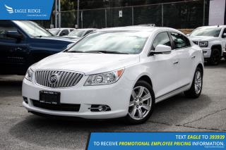 Used 2012 Buick LaCrosse Convenience Group Heated Seats and Backup Camera for sale in Port Coquitlam, BC