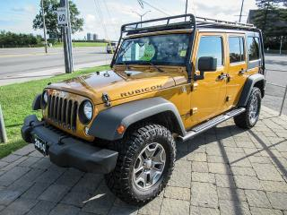 Used 2014 Jeep Wrangler UNLIMITED RUBICON, AUTO, LEATHER *ORANGE!* for sale in Ottawa, ON