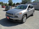 Used 2016 Jeep Cherokee Limited 4WD for sale in Beaverton, ON