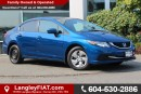 Used 2014 Honda Civic LX NO ACCIDENTS, B.C OWNED for sale in Surrey, BC