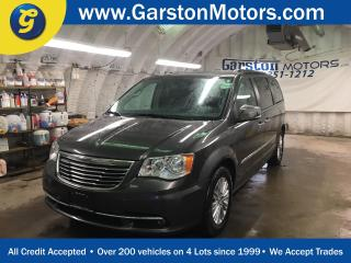 Used 2016 Chrysler Town & Country LEATHER*SUNROOF*NAVIGATION*DUAL REAR DVD PLAYERS*DUAL ROW STOW & GO*BACK UP CAMERA* POWER REAR SLIDING DOORS*PHONE*POWER TAIL-GATE* for sale in Cambridge, ON
