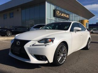 Used 2014 Lexus IS 250 PREMIUM PACKAGE for sale in Brampton, ON