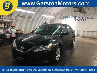Used 2016 Nissan Altima S*CVT*BACK UP CAMERA*REMOTE START*HANDS FREE CALLING*BLUETOOTH AUDIO STREAMING*PUSH BUTTON IGNITION*POWER HEATED MIRRORS*POWER DRIVER SEAT*FOG LIGHTS*POWER WINDOWS/DOORS*KEY LESS ENTRY*BLUETOOTH/FM/AM/XM/CD/AUX/ MP3 READY for sale in Cambridge, ON