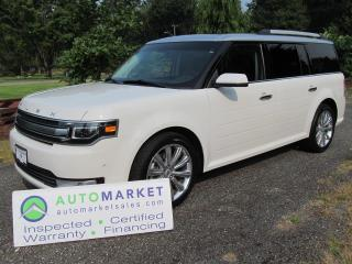 Used 2013 Ford Flex Limited, AWD, NAV, Warr for sale in Surrey, BC