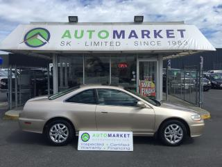 Used 2001 Honda Accord EX-L V6 COUPE LOADED! FINANCE ALL CREDIT!! for sale in Langley, BC