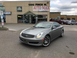 Used 2006 Infiniti G35 Sport, Sunroof, Leather for sale in North York, ON