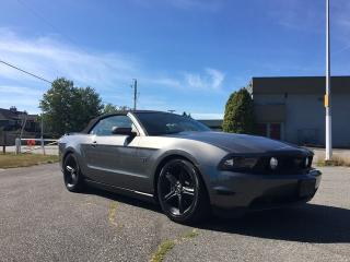 Used 2010 Ford Mustang GT CONVERTIBLE + NAVI + BACK-UP CAM + HEATED FRONT SEATS + 19