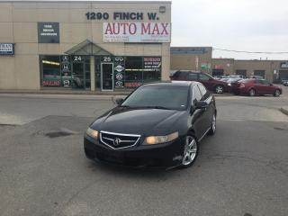 Used 2005 Acura TSX Certified, Leather, Sunroof for sale in North York, ON