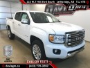 New 2017 GMC Canyon SLT-Diesel, Heated Leather, Android/Apple Carplay for sale in Lethbridge, AB