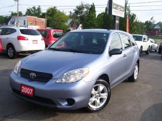Used 2007 Toyota Matrix XR for sale in Kitchener, ON