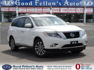 Used 2014 Nissan Pathfinder SL MODEL AWD 7 PASSR NAVI CAM, LEATHER 6CYL 3.5L for sale in North York, ON