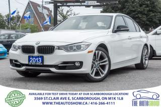Used 2013 BMW 3 Series 328i xDrive NAVI Red-Interior for sale in Caledon, ON