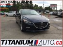 Used 2014 Mazda MAZDA3 GS+Camera+GPS+Heated Seats+BlueTooth+New Brakes+Sk for sale in London, ON