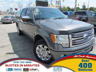 Used 2011 Ford F-150 PLATINUM   4X4   NAV   BACKUP CAM   LEATHER for sale in London, ON