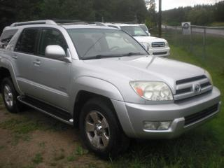 Used 2003 Toyota 4Runner LIMITED V6   LEATHER for sale in Mansfield, ON