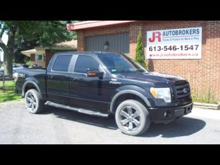 Used 2010 Ford F-150 FX4 Supercrew 4X4 - FULLY LOADED! for sale in Elginburg, ON