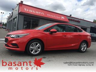 Used 2017 Chevrolet Cruze Offering lowest payment on a car YOU want, O.A.C. for sale in Surrey, BC