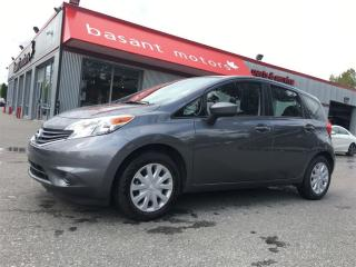 Used 2016 Nissan Versa Note Hatchback, Fuel Efficient, Low Cost of Ownership!! for sale in Surrey, BC