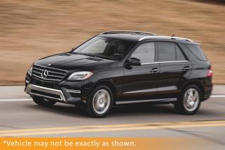 Used 2015 Mercedes-Benz ML-Class ML350, Bluetec 4Matic LOADED P for sale in Winnipeg, MB