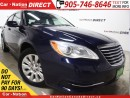 Used 2013 Chrysler 200 LX| WE WANT YOUR TRADE| OPEN SUNDAYS| for sale in Burlington, ON
