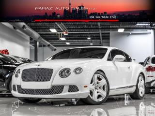 Used 2012 Bentley Continental GT COUPE W12|MULLINER EDTN|ACCIDENT FREE for sale in North York, ON