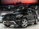 Used 2014 Mercedes-Benz ML 350 AMG|NAVI|360CAM|B.SPOT|PANO|BLUETEC for sale in North York, ON