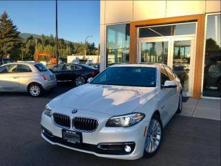 Used 2015 BMW 528 i xDrive / Premium Package for sale in North Vancouver, BC