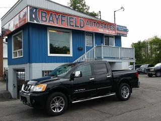 Used 2015 Nissan Titan SL Crew Cab 4x4 **Leather/Sunroof/Navi/Only 14k!!** for sale in Barrie, ON