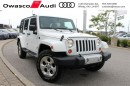Used 2013 Jeep Wrangler Unlimited Sahara for sale in Whitby, ON