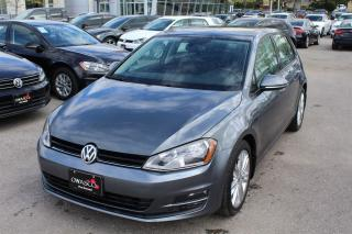 Used 2015 Volkswagen Golf 2.0 TDI Highline w/ Back-Up Camera!! for sale in Whitby, ON