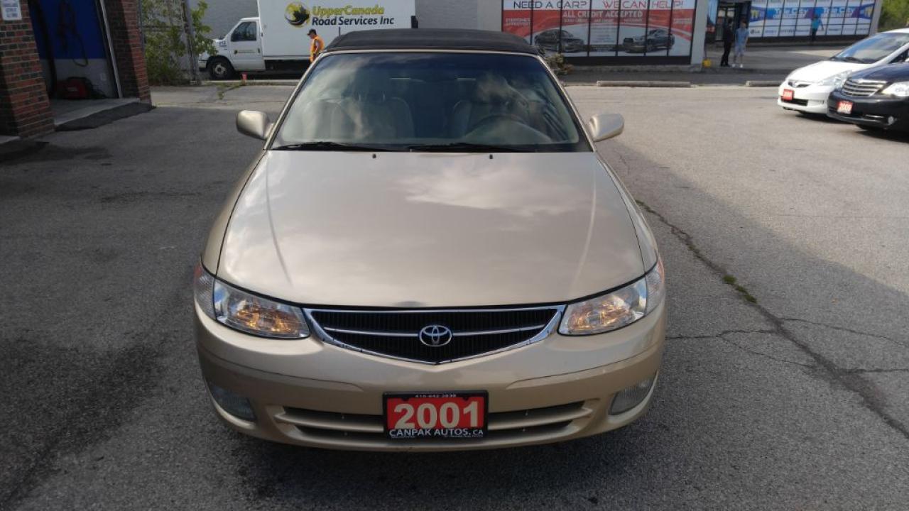 Photo of Gold Dust Mettalic 2001 Toyota Camry Solara