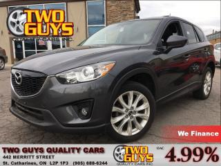 Used 2014 Mazda CX-5 GT | LEATHER| SUNROOF | AWD for sale in St Catharines, ON
