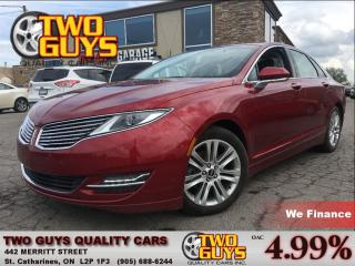 Used 2014 Lincoln MKZ 2.0L | RESERVE GROUP| NAV | FWD for sale in St Catharines, ON