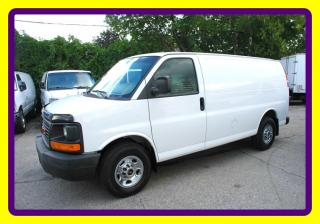 Used 2010 GMC Savana 2500 3/4 ton CARGO VAN NO WINDOWS ACCESORIES for sale in Woodbridge, ON